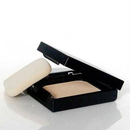 韩国专柜 3ce 三只眼波点干湿两用保湿遮瑕控油调节肤色定妆粉饼 三色可选