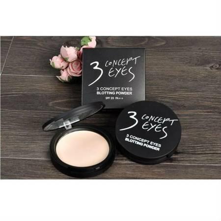 韩国专柜 3ce 三只眼自然白皙粉饼 三色可选