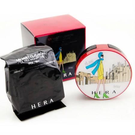 韩国专柜 HERA赫拉10月限量旅行日记气垫BB霜 两色可选