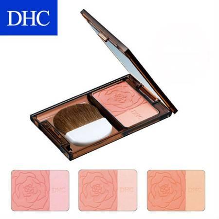 专柜正品 DHC 炫彩立体腮红 5g 附镜盒腮红刷 三色可选