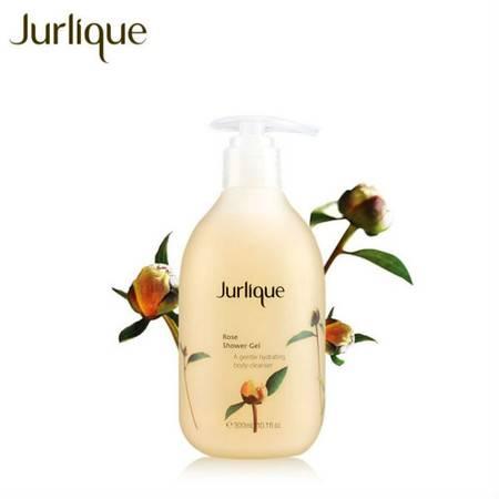 Jurlique/茱莉蔻澳洲美白滋润花瓣玫瑰沐浴露300ml