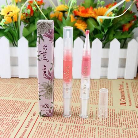 韩国专柜 MIXIU/米修可调色唇彩素笔 自动旋转染色笔 十二色可选