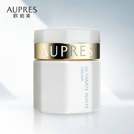 专柜正品 AUPRES/欧珀莱臻白多效弹润霜50g