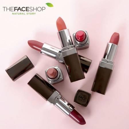 专柜正品 The Face Shop 黑标口红 六色可选