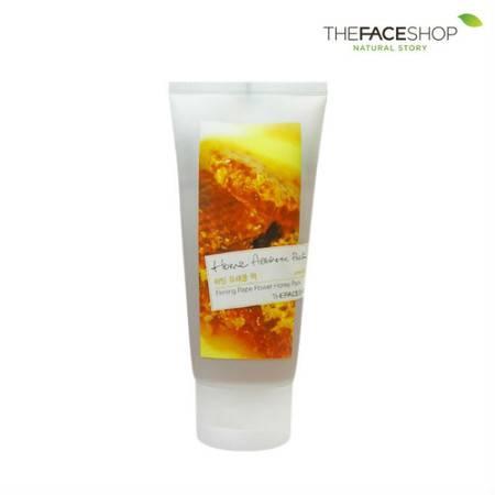 专柜正品 The Face Shop 撕拉式面膜 蜂蜜紧肤面膜 120ml