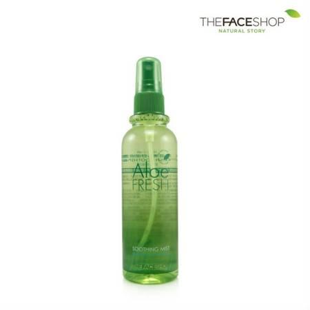 专柜正品 The Face Shop 芦荟清新舒缓喷雾 130ml