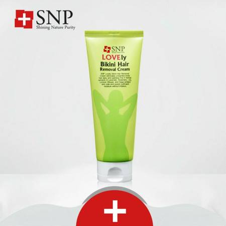韩国专柜正品 SNP比基尼除毛膏150g