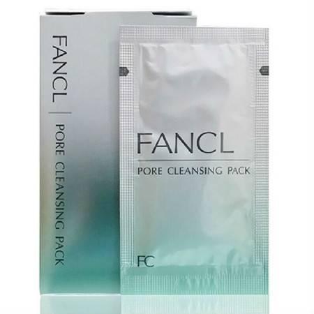 FANCL 无添加黑头洁净面膜5g*8包
