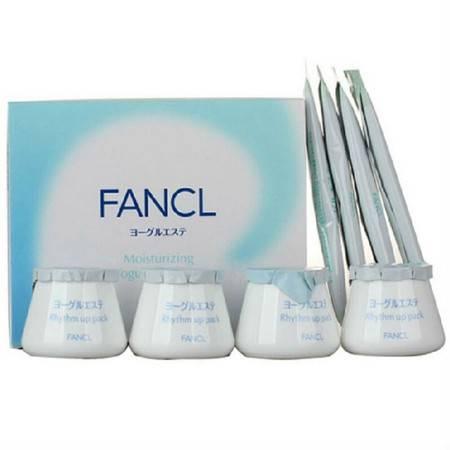 FANCL 无添加乳酪水润面膜4组