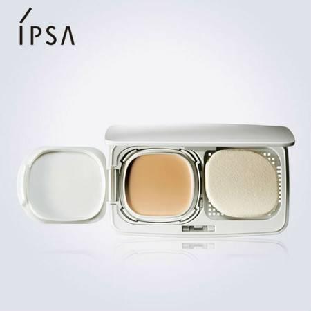 IPSA茵芙莎纯美无瑕粉底膏套装 粉饼+粉盒 两色可选