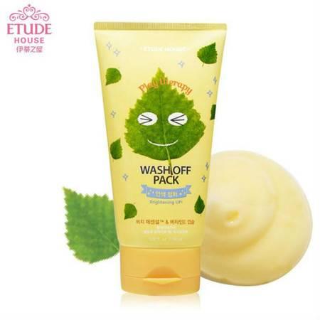 韩国专柜 ETUDE HOUSE伊蒂之屋 自然舒缓水洗面膜(净透肌肤)