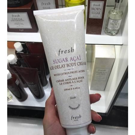 Fresh馥蕾诗澄糖巴西莓果滋润体乳200ml