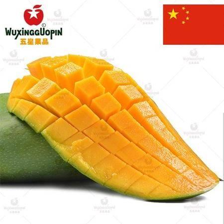 【五星果品】海南水果产地 大青芒  超值4斤