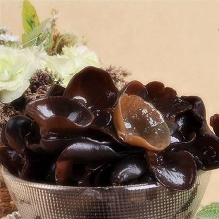 四川达州宣汉 明龙椴木优质干黑木耳 营养丰富 300g/袋