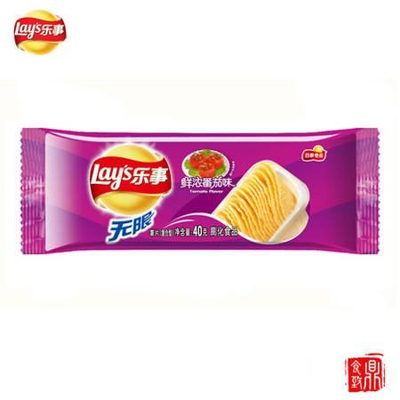 乐事薯片盒装鲜浓番茄味40g(保质期至17年6月12日)