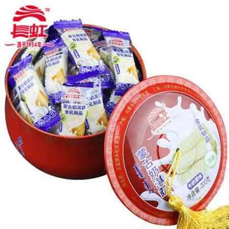 内蒙古特产长虹礼盒装蒙古奶淇萨奶酪200克铁盒
