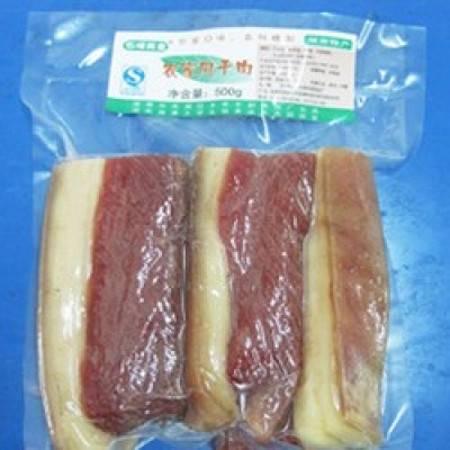 湘潭特产 石坝美食 石坝农家精品风干腊肉500g 特色乡里健康腊肉 好吃不腻