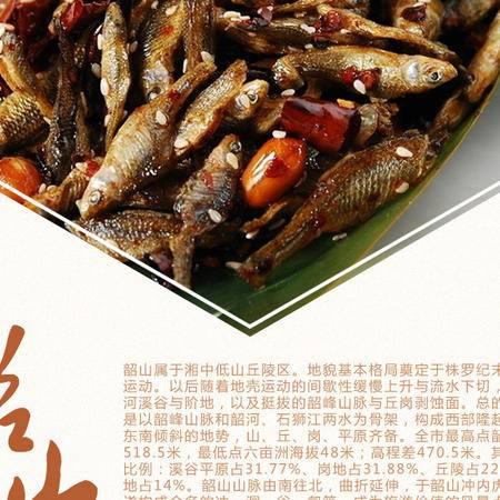 【湘潭馆】湖南特产 湘潭毛家食品火培鱼150g