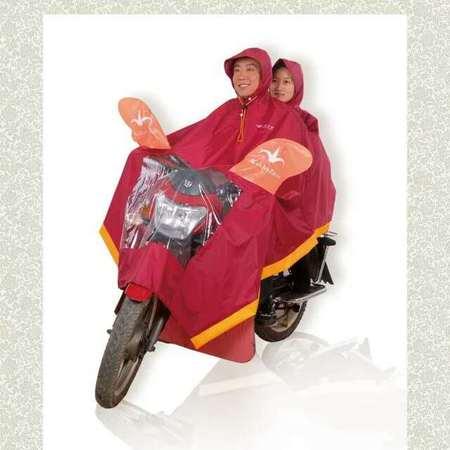 F4双人摩托车雨披