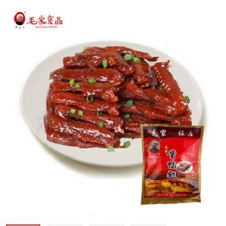【湘潭馆】湖南特产毛家食品汤妈妈酱鸭翅250g