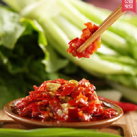 【湘潭馆】毛家饭店 汤妈妈开胃酱椒450g