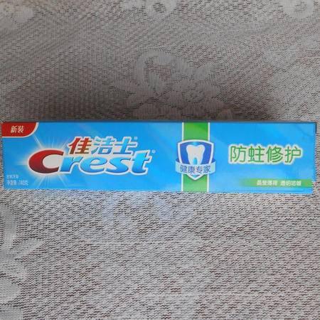 佳洁士防蛀修复晶莹薄荷牙膏140g*7