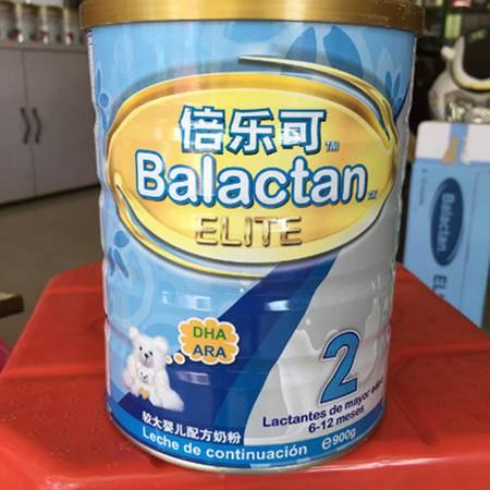 倍乐可奶粉2段900g