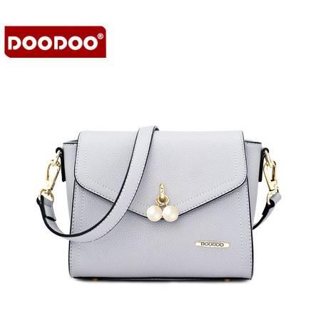 doodoo小包包2016新款日韩时尚女包百搭斜跨手提包单肩女士斜挎包D6013
