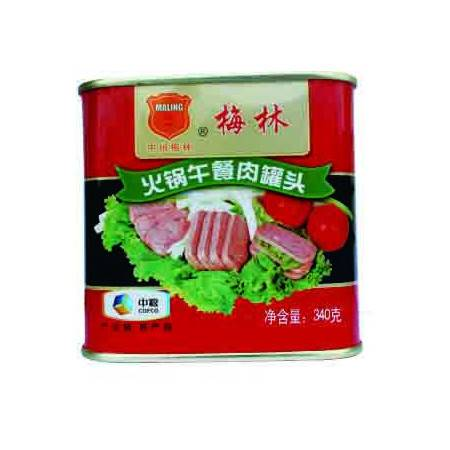 中粮梅林火锅午餐肉