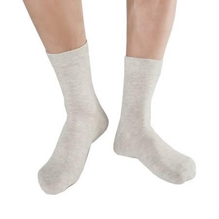 CK STORM  男士棉袜 精梳棉银纤维商务运动休闲纯色短袜CK-ME01W0628