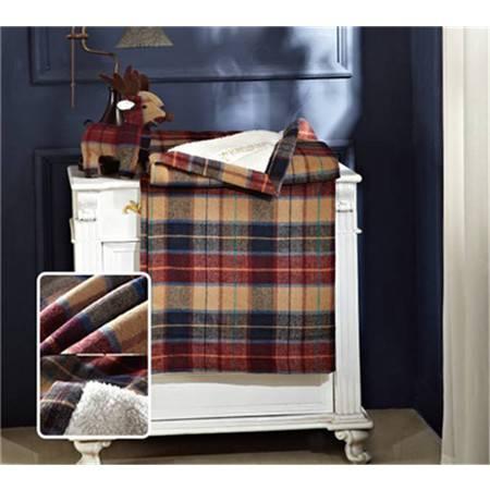 包邮 苏格兰羊绒毯