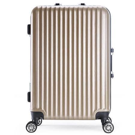 迪阿伦 旅行拉杆箱铝框万向轮20寸登机箱旅行箱男女行李箱