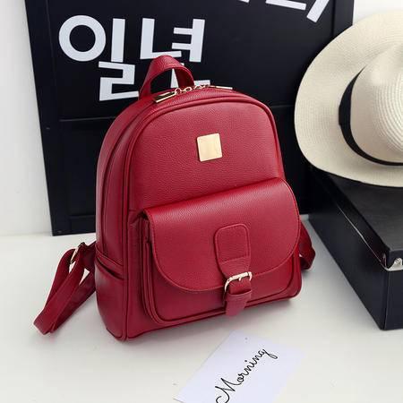 迪阿伦 双肩包 女 夏季新款潮韩版时尚休闲学院风旅行背包 学生书包