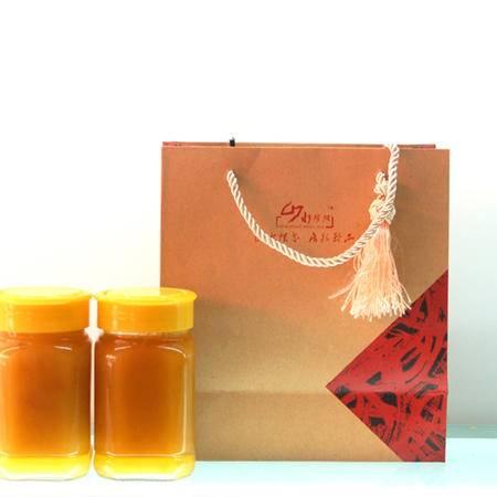 湖北十堰野生蜂蜜(简包)500g瓶土特产