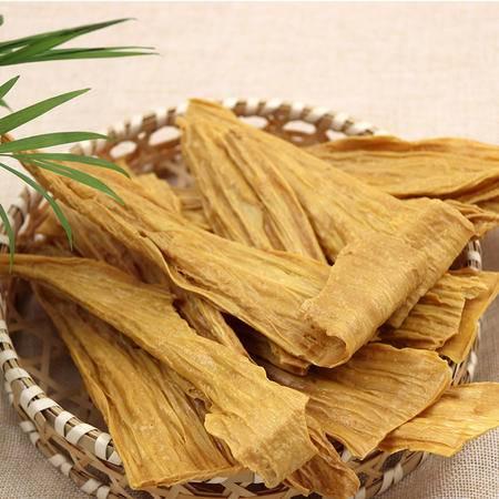 [爱心助农-明记在心]纯天然正宗头层薄豆腐皮干货腐竹豆制品500g