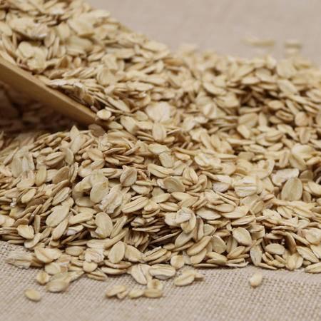 明记在心 生燕麦片农家五谷杂粮纯燕麦片营养燕麦粥粗粮500g