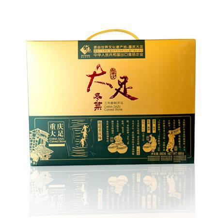 大足  石魂冬菜礼盒960g