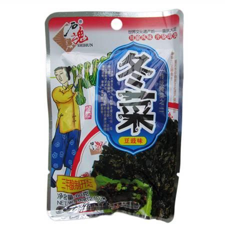大足  石魂冬菜豆豉味60g