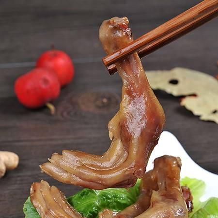 含昭 五香鸭爪 150G 特产 卤味酱鸭掌 即食熟食 休闲零食 办公室零食