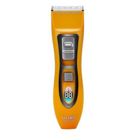 利力新款L5发廊专业理发器 智能屏显电动剪发器 婴儿剃头电推剪38