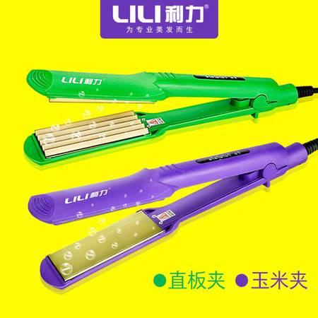 利力钛金板直发器 玉米须夹玉米烫夹板 温控不伤发直发器089
