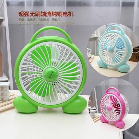 新款夏季学生电扇迷你风扇安全台扇小电风扇可爱便捷 190提手