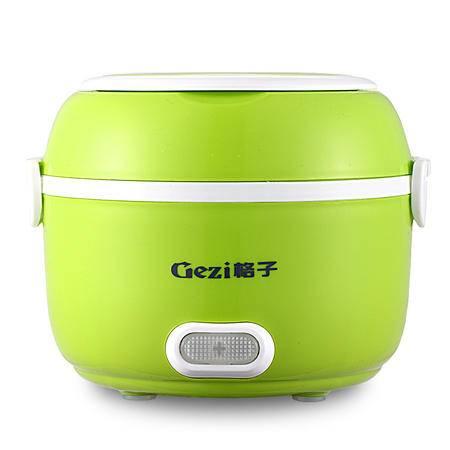 格子电热饭盒 蒸煮饭盒 可做米饭 GZ05