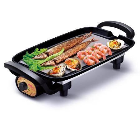 生活日记T6 铁板烧 家用烧烤炉 正品 无烟温度可调烤肉机