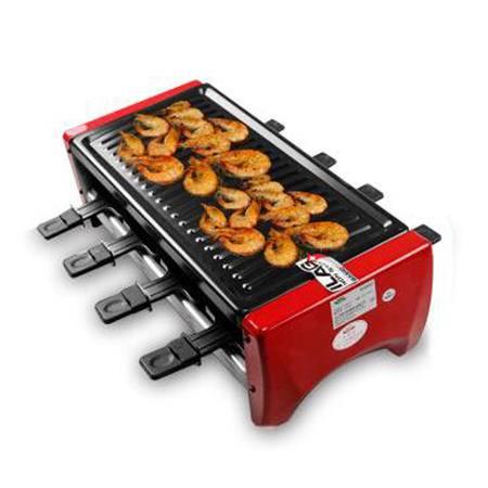 生活日记RC-08R电烧烤炉 韩式家用不粘电烤炉烤肉机双层电烤盘1