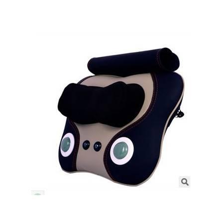 正品颈椎按摩靠垫颈部腰部背部按摩垫 多功能腰椎加热靠垫按摩枕