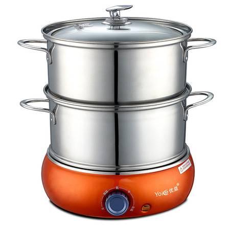 优益Y-ZDQ8双层煮蛋器不锈钢蒸蛋器煮蛋机