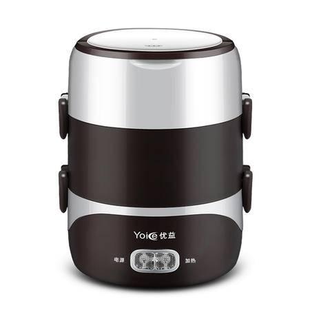 优益Y-DFH3  电热饭盒 三层加热 电饭盒热饭器插电蒸煮保温便携