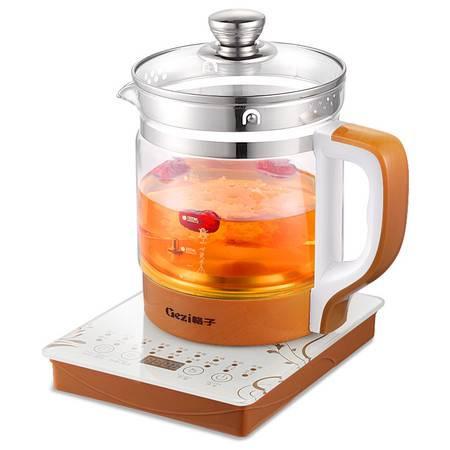 格子养生壶正品GZ-C11加厚玻璃全自动中药壶分体电煎药壶花茶壶