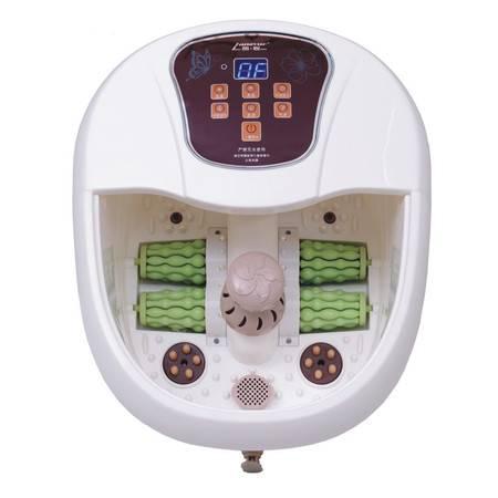 朗悦LY-821足浴盆全自动滚轮按摩加热洗脚盆电动足浴器泡脚盆